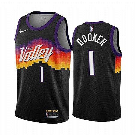 Camisa de Basquete Phoenix Suns 2021City Edition - 01 Booker