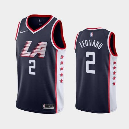Camisas Los Angeles Clippers - City Edition - 02 Leonard , 13 Paul George, 23 Lou Williams