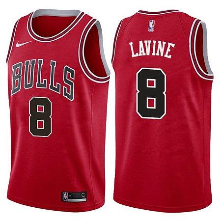 Camisas Chicago Bulls - 8 Lavine, 24 Markkanen, Jordan 23