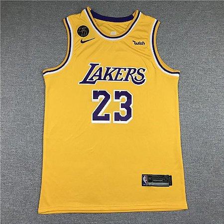 Camisa de Basquete Los Angeles Lakers - 23 LeBron James
