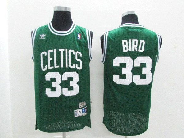Camisas Retrô Boston Celtics  - 33 Larry Bird