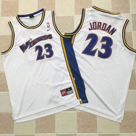 Camisas Retrô Washigton Wizzards - 23 Michael Jordan