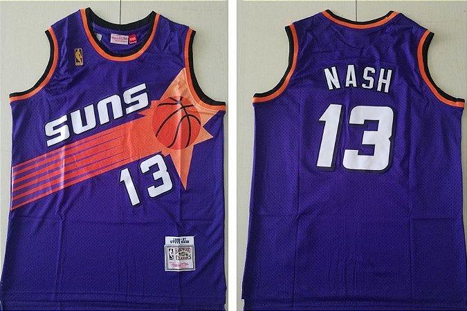 Camisas Retrô Phoenix Suns - 34 Charles Barkley, 13 Steve Nash