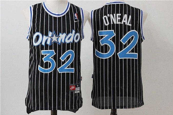 Camisas Retrô Orlando Magic- 32 Shaquille O'Neal, 1 McGrady, 1 Hardaway