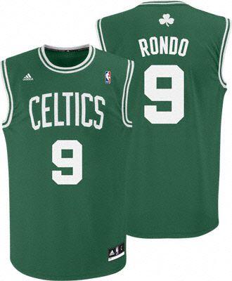 Camisa Retrô Boston Celtics - 9 Rondo