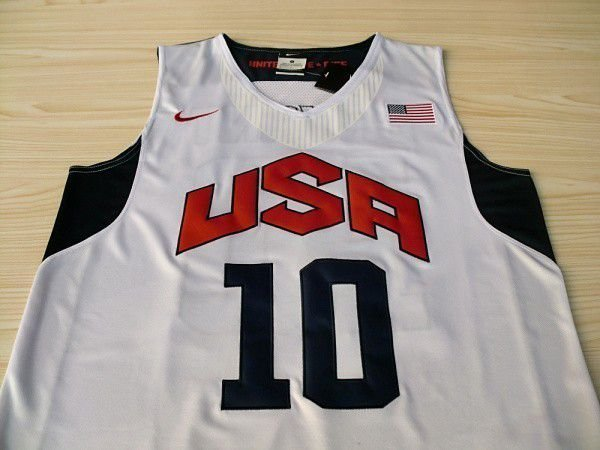 Camisas Dream Team Olimpíadas 2012 - 10 Kobe Bryant, 6 LeBron James, 7 Russell Westbrook, 21 James Harden