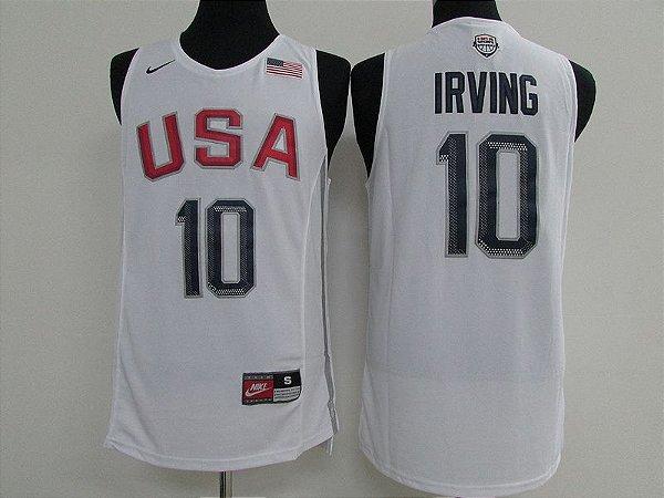 Camisas Dream Team Olimpíadas 2016 - 6 Lebron James, 10 Kyrie Irving, 11 Klay Thompson, 15 Carmelo Anthony