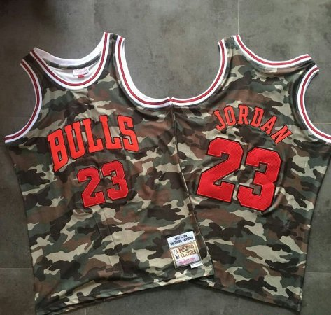Camisas Chicago Bulls Jordan Authentic M&N - Diversos Modelos