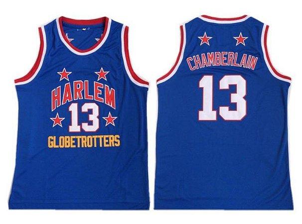 Camisa Harlem Globetrotters - 13 Chamberlain