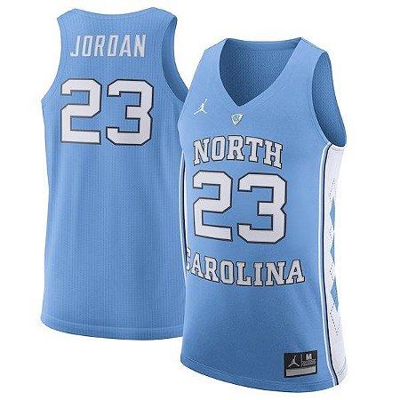 Camisas North Carolina - 23 Michael Jordan, 15 Vince Cater