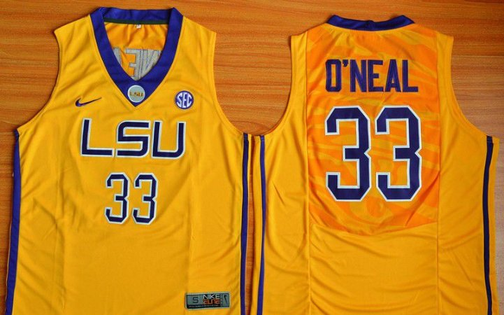 Camisas LSU - 33 Shaquille O'Neal