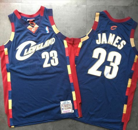 Camisa Cleveland Cavaliers Authentic Classics M&N, 23 LeBron James
