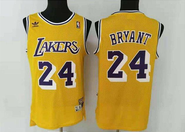 Camisas retrô Los Angeles Lakers - 24 Kobe Bryant