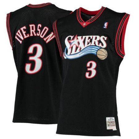 Camisa Retrô Philadelfia 76ers Authentic Classics M&N - 3 Allen Iverson