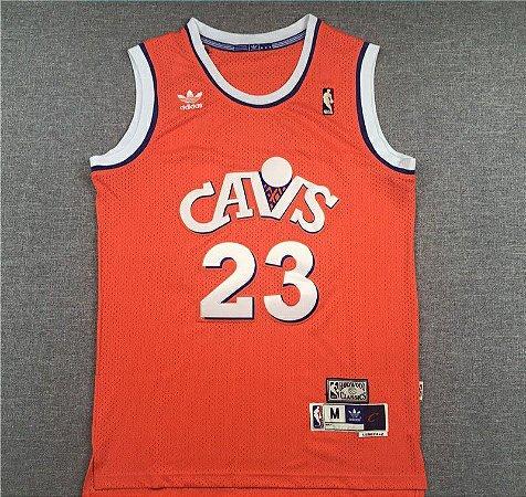 Camisas Cleveland Cavaliers Retrô - 23 LeBron James