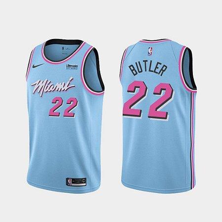 Camisas de Basquete Miami Heat - City Edition / Earned Edition - 22 Butler, 3 Wade