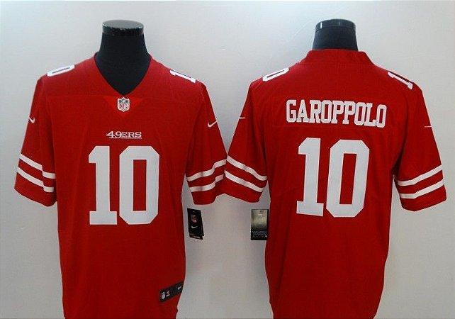 Camisas San Francisco 49ers - 10 Garoppolo, 7 Kaepernick