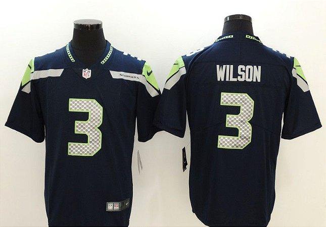 Camisas Seattle Seahawks - 3 Wilson