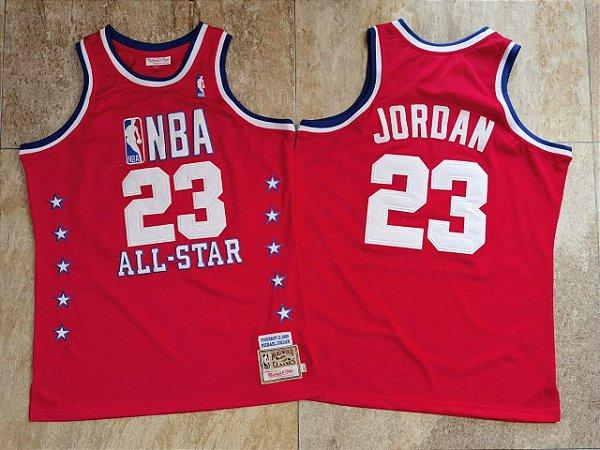 Camisa All Star Game Authentic Hardwood Classics M&N - 23 Michael Jordan