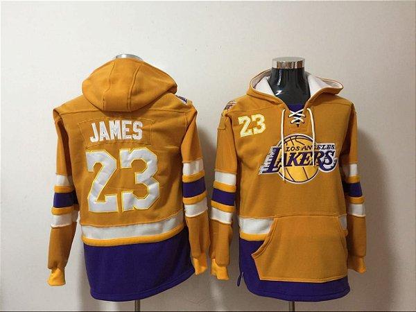 Blusões NBA Los Angeles Lakers - 23 Lebron James, 24 Kobe Bryant, 3 Anthony Davis