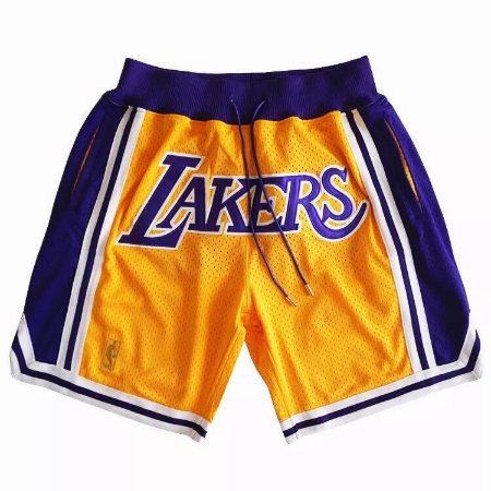 Shorts NBA Just Don - Los Angeles Lakers