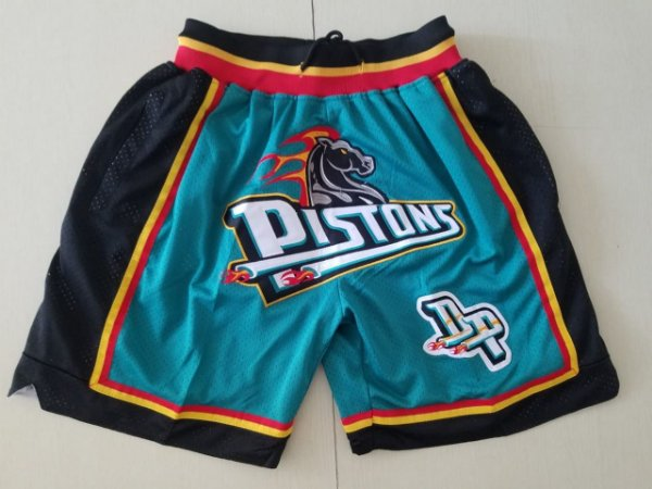 Shorts NBA Just Don - Detroit Pistons, Cleveland Cavaliers, Charlotte Hornets, Houston Rockets