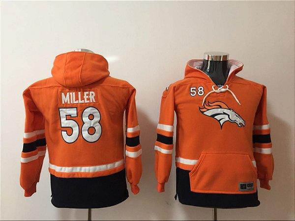 Blusa NFL Denver Broncos - 7 Elway, 58 Miller