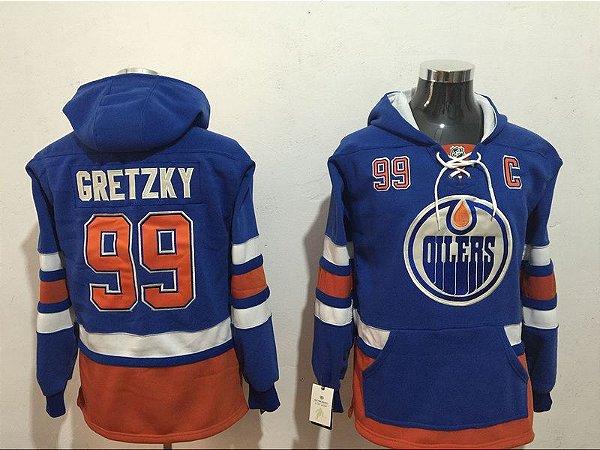 Blusa NHL Edmonton Oilers - 99 Gretzky