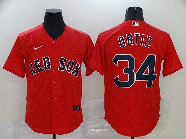 Camisas MLB Boston Red Sox - 34 Ortiz