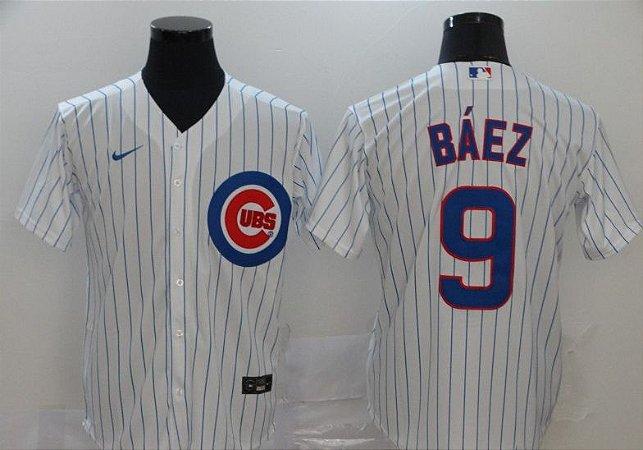 Camisas MLB Chicago Cubs - 9 Báez