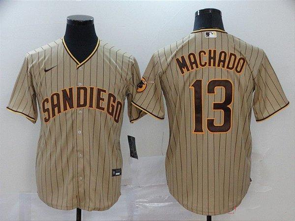 Camisas de Baseball MLB San Diego Padres - 13 Machado