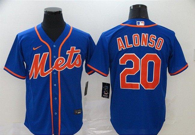 Camisas MLB New York Mets - 20 Alonso