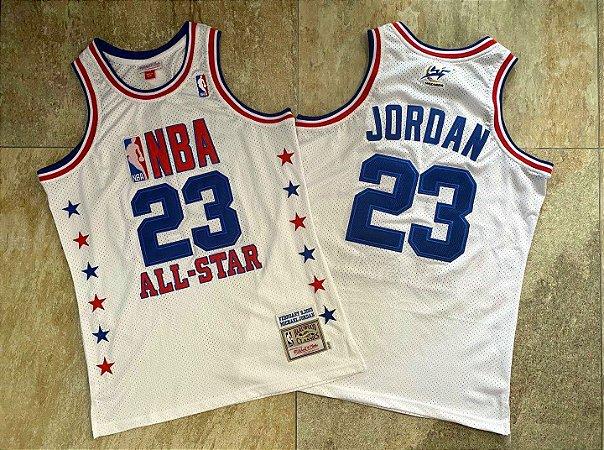 Camisa All Star Game 2003 Authentic Hardwood Classics M&N - 23 Michael Jordan
