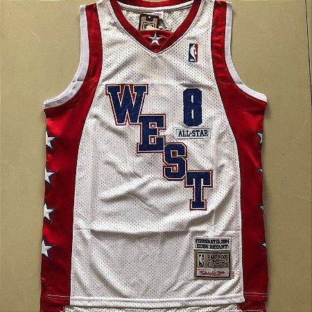 Camisa de Basquete Especial All Star Game 2004 Hardwood Classics M&N - 8 Kobe Bryant