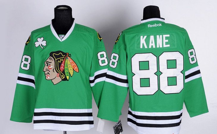Camisa NHL Chicago Blackhawks - St. Patricks Day