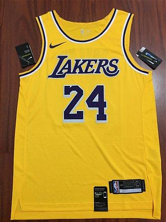 Camisa de Basquete Los Angeles Lakers versão Jogador - Kobe Bryant 24