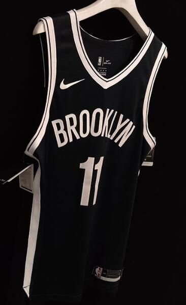 Camisas de Basquete Brooklyn Nets versão jogador - 11 Kyrie Irving, 7 Kevin Durant