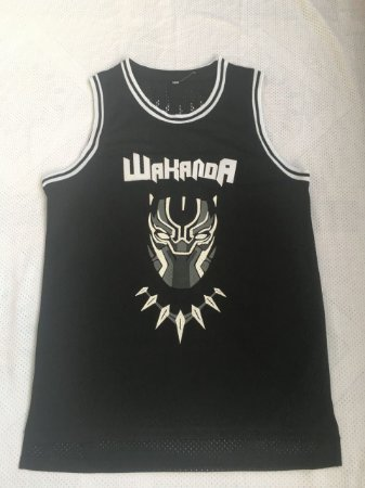 Camisa de Basquete Wakanda (Filme Pantera Negra) - 1T'Chala, 2 Killmonger