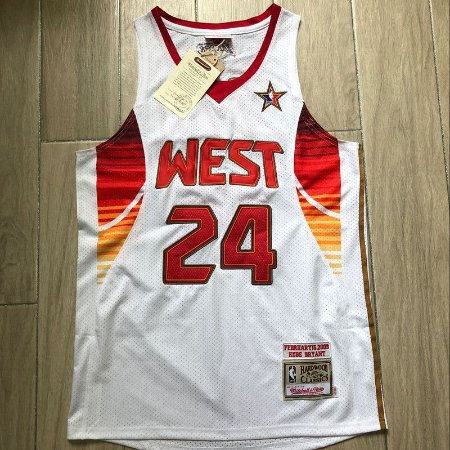 Camisa de Basquete Especial West All Star Game 2008 Hardwood Classics M&N - 24 Kobe Bryant