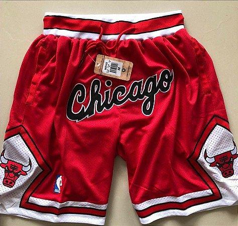 Shorts NBA Just Don Chicago Bulls