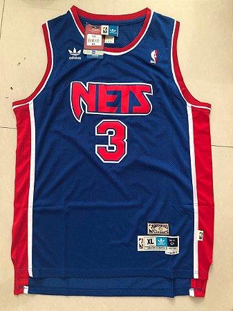 Camisas de Basquete retrô New Jersey Nets - 3 Petrovic
