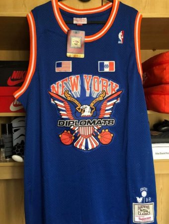 Camisa de Basquete The Diplomats x New York Knicks x M&N