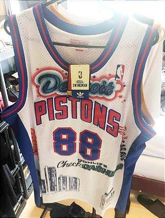 Camisa de Basquete Big Sean x Detroit Pistons x M&N