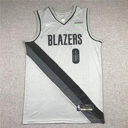 Camisa de Basquete Portland Trailblazers Earned Edition 2021 - 0 Lillard, 00 Anthony