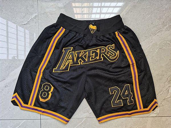 Shorts Just Don Black Mamba Los Angeles Lakers