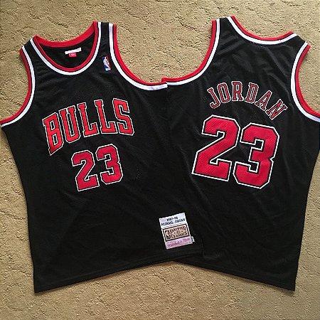 Camisa de Basquete Chicago Bulls 97/98 Hardwood Classics M&N - 23 Michael Jordan