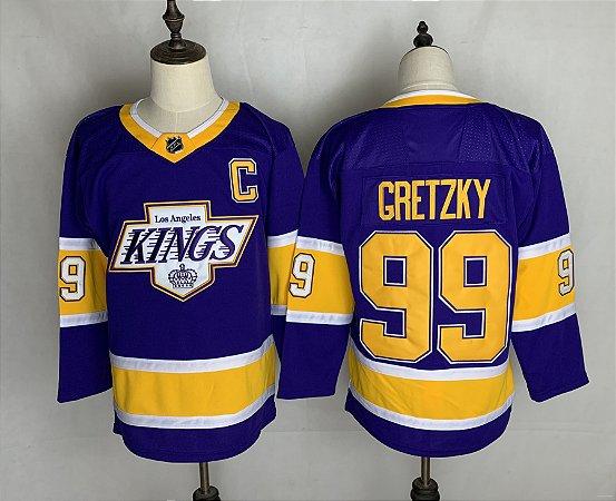 Camisa de Hockey NHL Los Angeles Kings - 99 Gretzky