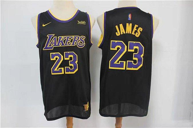 Camisa de Basquete Los Angeles Lakers Earned Edition 2021 - 23 Lebron James