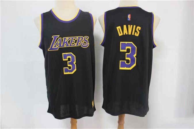 Camisa de Basquete Los Angeles Lakers Earned Edition 2021 - 3 Anthony Davis