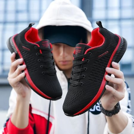 Tênis Fashion Unisex Respirável e Confortável